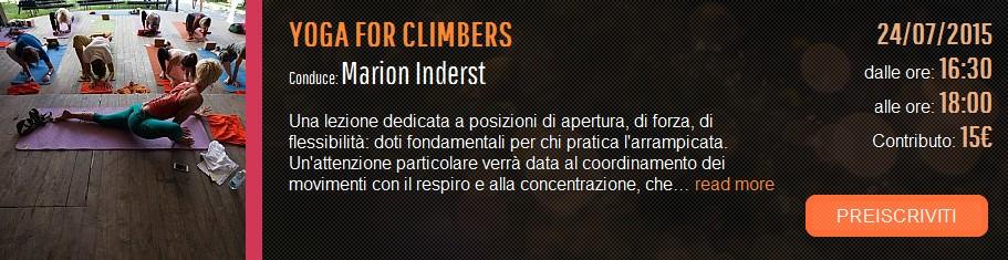 yogadventure climber