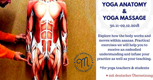 Angewandte Anatomie & Thai Yoga Massage für Yogalehrer